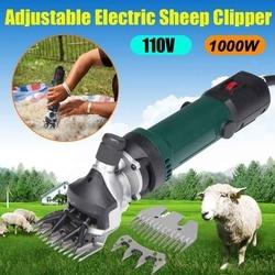 700W 110/220V Elektrische Schaf Ziege Clipper Groomer Rasierer Einstellbare 6 Geschwindigkeit Scheren Maschine