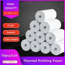 Cash Register Thermal-Paper Printer Paperang Bluetooth 57x30-Mm 10-Rolls-Mobile Rollfor