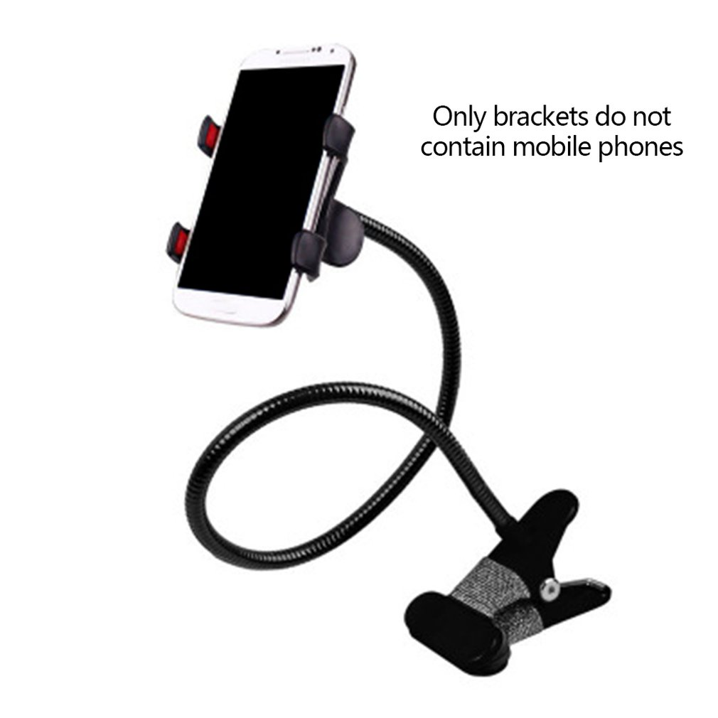 Long Lazy Arm Phone Stand Holder 360 Degree Flexible Bed Desk Mobile Phone Stand Table Clip Bracket Mount For IPhone 8 7 6S