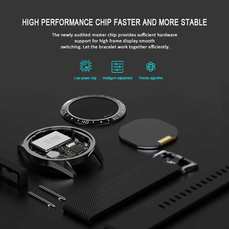 Nieuwe Bluetooth Smart Horloge Mannen vrouwen Bloeddruk Fitness Tracker Horloge Hartslag Sleep Monitor Smart Horloge voor Android IOS