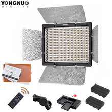 YONGNUO Panel de luz LED para vídeo YN600L II 5500K/3200 5500K YN 600, Control remoto inalámbrico 2,4G + batería F550, KIT para Canon Nikon