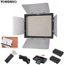 YONGNUO YN600L II 5500K/3200 5500K YN 600 비디오 LED 라이트 패널 2.4G 무선 원격 제어 + F550 배터리 키트 Canon Nikon