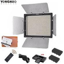 YONGNUO YN600L II 5500K/3200 5500K YN 600 Video LED Light Panel 2.4G Wireless Remote Control +F550 Battery KIT for Canon Nikon