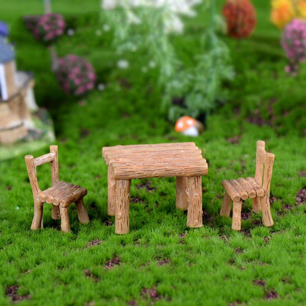 1 комплект мини-стул домашний декор сказочные миниатюры садовые украшения фигурки игрушки DIY аквариум кукольные аксессуары украшения