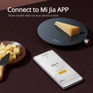 Image 2 - 2021 New Xiaomi HOTO Smart Kitchen Scale work with mijia APP Electronic Mini Mechanical Scale Food Weighing Measuring Tool
