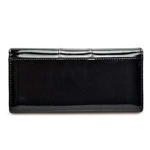 Image 3 - BETH CAT New Fashion Genuine Leather Women Wallet Female Hasp Purse Long Coin Purses Ladies Wallets Cowhide Red