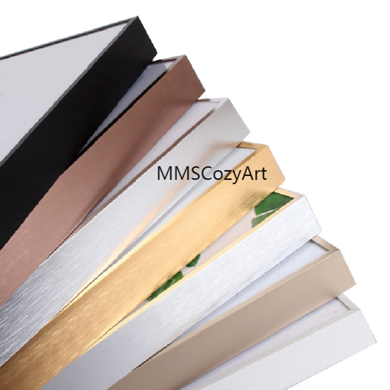 Металлическая рамка для картин, холст, рамка для картин маслом, рамка может быть изготовлена на заказ, сделай сам, алюминиевый сплав, рамка н...