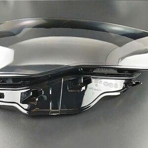 Image 4 - フロントヘッドライトヘッドライトガラスマスクランプカバー透明シェルランプマスクアウディ A3 2013 2016 レンズ