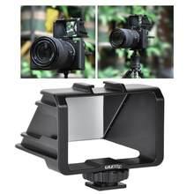 UURig – support de caméra Vlog Selfie, pour Sony 6300/A7M3 A7R3, pour Fuji XT2/XT3/XT20/XT30, pour Nikon Z6/Z7, pour Canon GX58