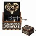 Новый продукт, Музыкальная шкатулка с ручным заводом на Хэллоуин, королева, Возьмите вас в луну, влюбитесь, рождественские подарки