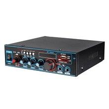 Gorąca 3C 800W moc dźwięku wzmacniacz z US wtyczka 12/220V 2 kanałowy Mini HIFI bezprzewodowy Bluetooth dźwięk cyfrowy wzmacniacz dla kina domowego