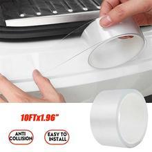 Universal Anti Scratch Transparent Tape For Car Door Sill Sticker Edge Protector Auto Bumper Scratchproof Anti-collision Strip