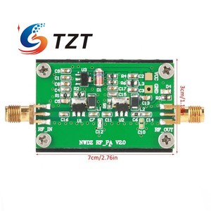 Image 5 - TZT RF מגבר לוח 2MHz 700MHZ בפס רחב RF כוח מגבר 3W HF VHF UHF FM משדר RF כוח מגבר עבור רדיו