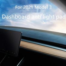 Na rok 2020 2021 Tesla Model 3 Dashboard odporne na światło podkładki i podkładki przeciwsłoneczne modele do dekoracji akcesoriów tanie tanio CN (pochodzenie)