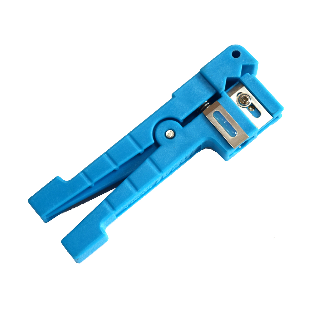 Ideal Cable Stripper 45-163 Coaxial Cable Stripper/Fiber Optic Cable Stripper