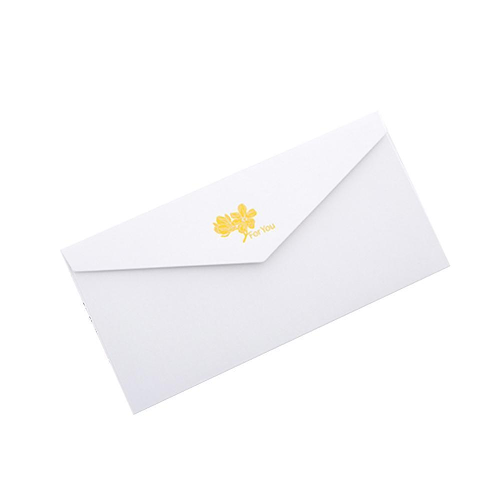 Retro Elegant Envelope Business Invitation Letter Multicolor Sobres Letter De Paper Blessing Stationery Write Credit Papel D7M1