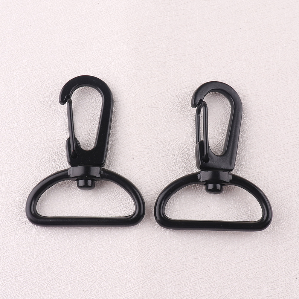 10 PCS Swivel Clasps Clips Lobster Clasps Clip Snap Hook Matel Key Chain Ring DIY Craft Backpack Parts Handmade tools decoration