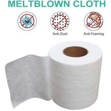 Filter Fabric Meltblown Non-woven Fabric Original Cloth Material Filter Fabric Anti-dust Breathable Protection Anti Pollution cheap ISHOWTIENDA face cover 100 Polyester hot sale drop shipping high quality