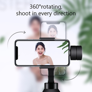 Image 4 - Eksprad 3 Axis Handheld Gimbal Stabilizer Focus Pull Zoom Following the Shooting Mode for iPhone 11 XR XS Samsung Action Camera