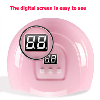 Dryer Light Fast Curing Auto Sensor UV 18 LED Display Light 54W USB Timer Manicure Lamp Nail Dryer Nail Art Tools image