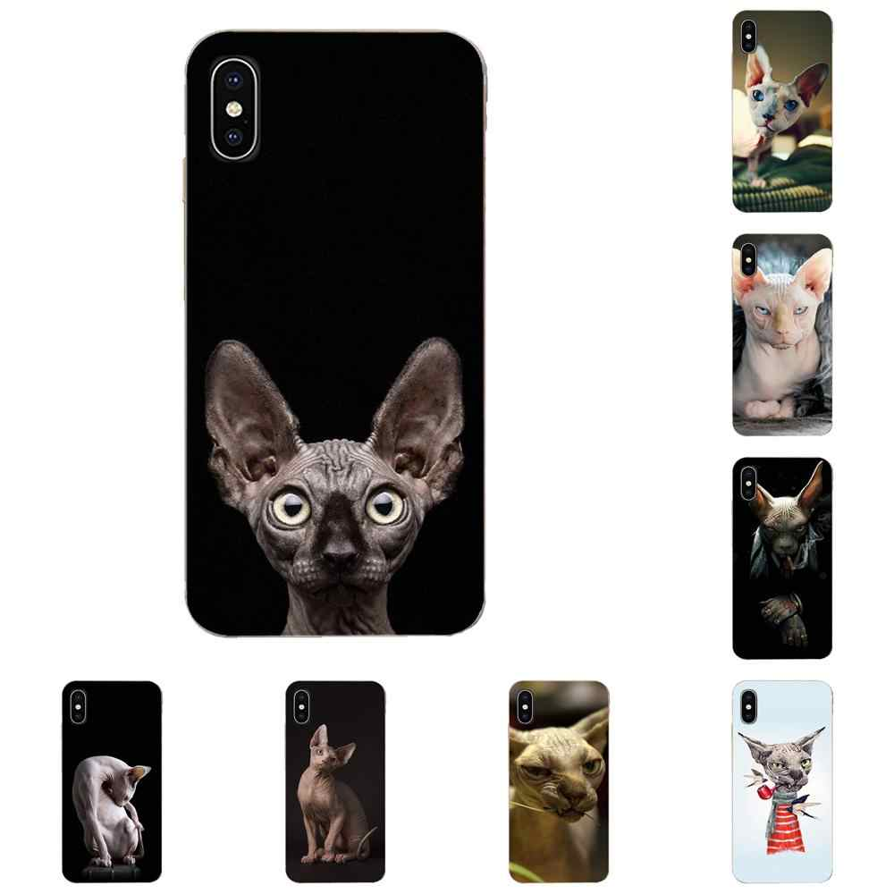 Sphynx Cat Kitty Luxury For Xiaomi Mi3 Mi4 Mi4C Mi4i Mi5 Mi 5S 5X 6 6X 8 SE Pro Lite A1 Max Mix 2 Note 3 4