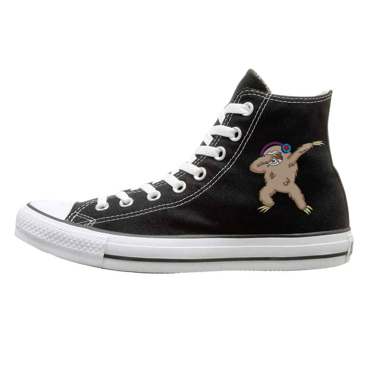 Aiguan/парусиновая обувь с высоким берцем; черные кроссовки в стиле унисекс; 135
