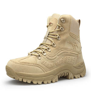 Shoes Combat-Boots Tactical Hight-Top Anti-Slip Wear-Resistant Cross-Border Special Outdoor