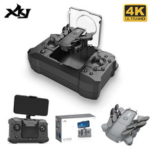 XKJ KY905 Mini Drone with 4K Camera HD Foldable Quadcopter One-Key Return Wifi FPV RC Helicopter Quadrocopter Kid's Toys