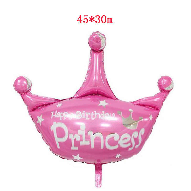 Dibujos Animados Mini Navidad película de aluminio globo niña niño Princesa para baby shower fiesta adornos navideños para el hogar Decoración