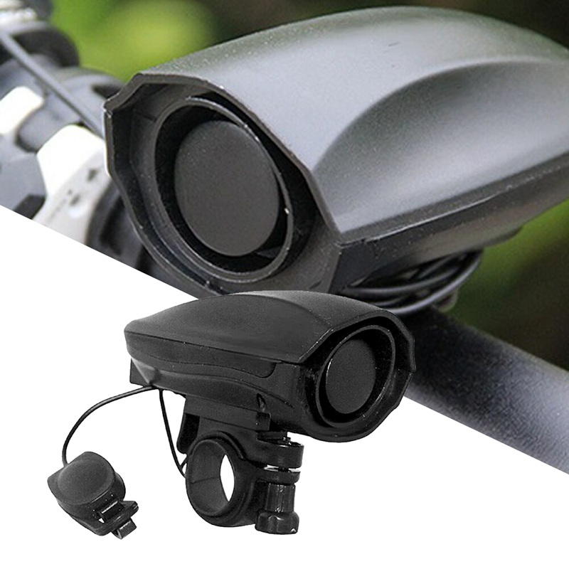 ABZB-High Decibel Bicycle Cycling Electronic Bike Handlebar Ultra Loud Ring Bell Horn Different Modes Voice
