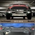 Передний и задний бампер для Ford Ecosport 2013-2019 бампер пластина высокое качество ABS светодиодные автомобильные аксессуары