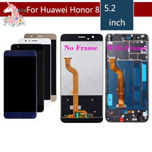 ORIGINAL LCD For HUAWEI Honor 8 Display Touch Screen Digitizer with Frame Honor8 FRD-L19 FRD-L09 Assembly Complete