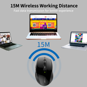 Image 4 - TeckNet Alpha Ergonomic Mice 2.4GHz Wireless Mouse Silent Button with USB Nano Receiver for Laptop Computer 3000/2000/1600/1200