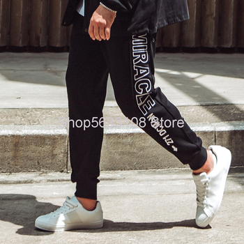 K110 Pants  Big Size Men's Wear Pants Embroidery Leisure Sports Trousers Male Fat Man Plus Fat Plus Embroidery