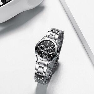 Image 2 - 2020 CHENXI Brand Luxury Stainless Steel Women s Watch Classic Fashion Business Watch Waterproof Quartz Movement Ladies Clock