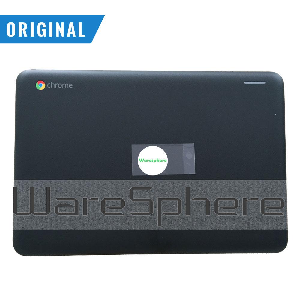 Nova marca original lcd capa traseira para dell inspiron 3180 p6jmv 0p6jmv ap24u000400 preto