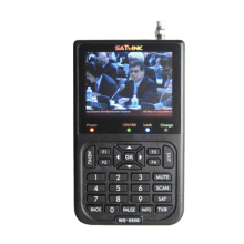 Satlink WS-6906 3.5 DVB-S FTA digital satellite meter finder satFind LCD ws 6906 satlink ws6906