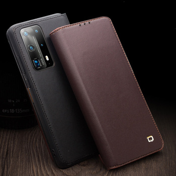 Top Grade Genuine Leather Cases for Huawei P40 P40 Pro Cases Retro Wallet Card Slot Covers For Huawei P40 Pro P40 Plus P 40 Capa фото
