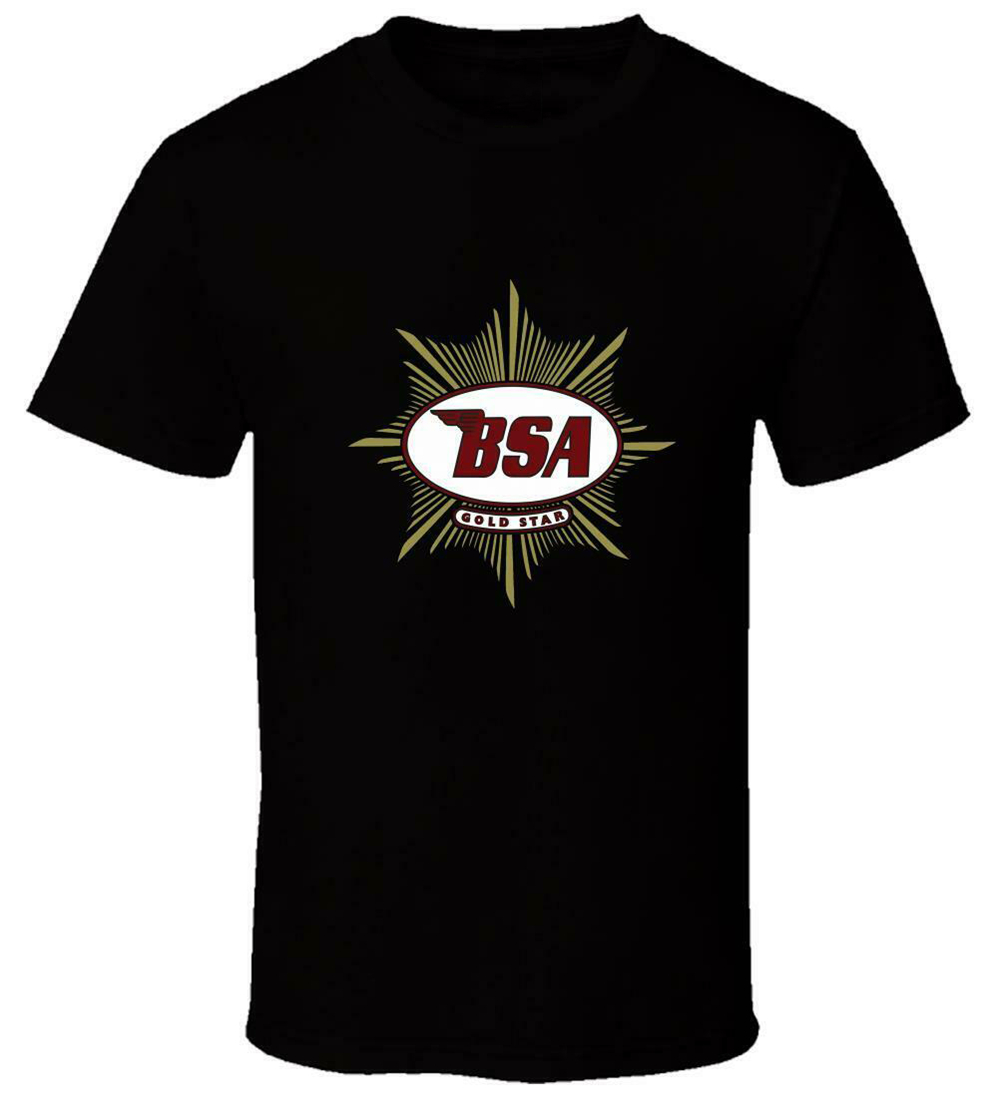 New <font><b>Bsa</b></font> Motorcycles 4 New T <font><b>Shirt</b></font> Usa Size Em1 Loose Size Top Tee <font><b>Shirt</b></font> image