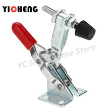 1pcs GH-201A Horizontal Quick Release Toggle Clamps Set 27kg  clamps pipe clamp for woodworking 50kg 90kg