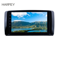Harfey 1Din Android 9.0 9 Car Radio GPS Multimedia Player For Mercedes Benz R Class W251 R280 R300 R320 R350 R63 2006 2013