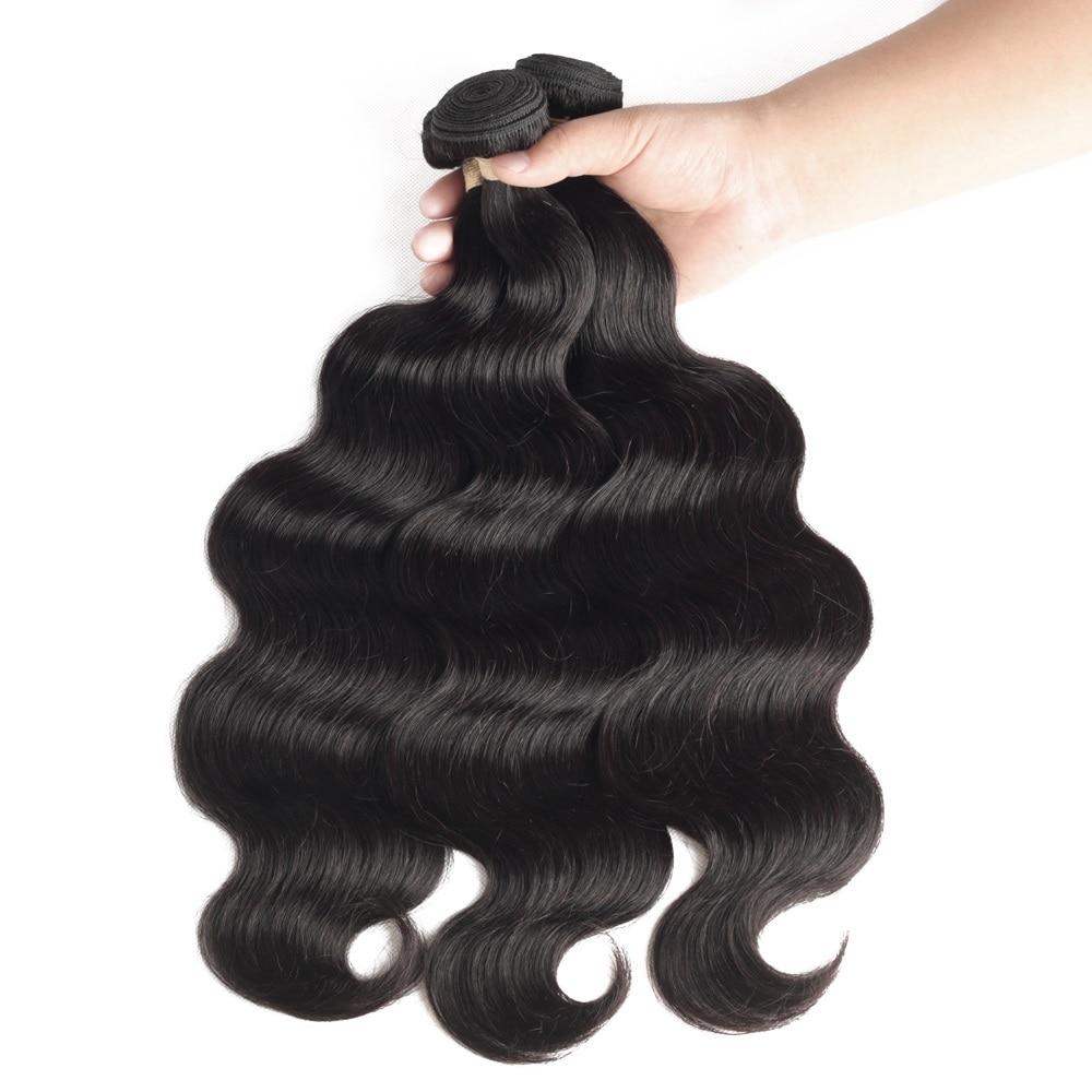 Brazilian Hair Weave Bundles 8-30 Inches Sapphire Brazilian Body Wave Remy Human Hair Extension 1/3/4 Bundle Deals Free Shipping
