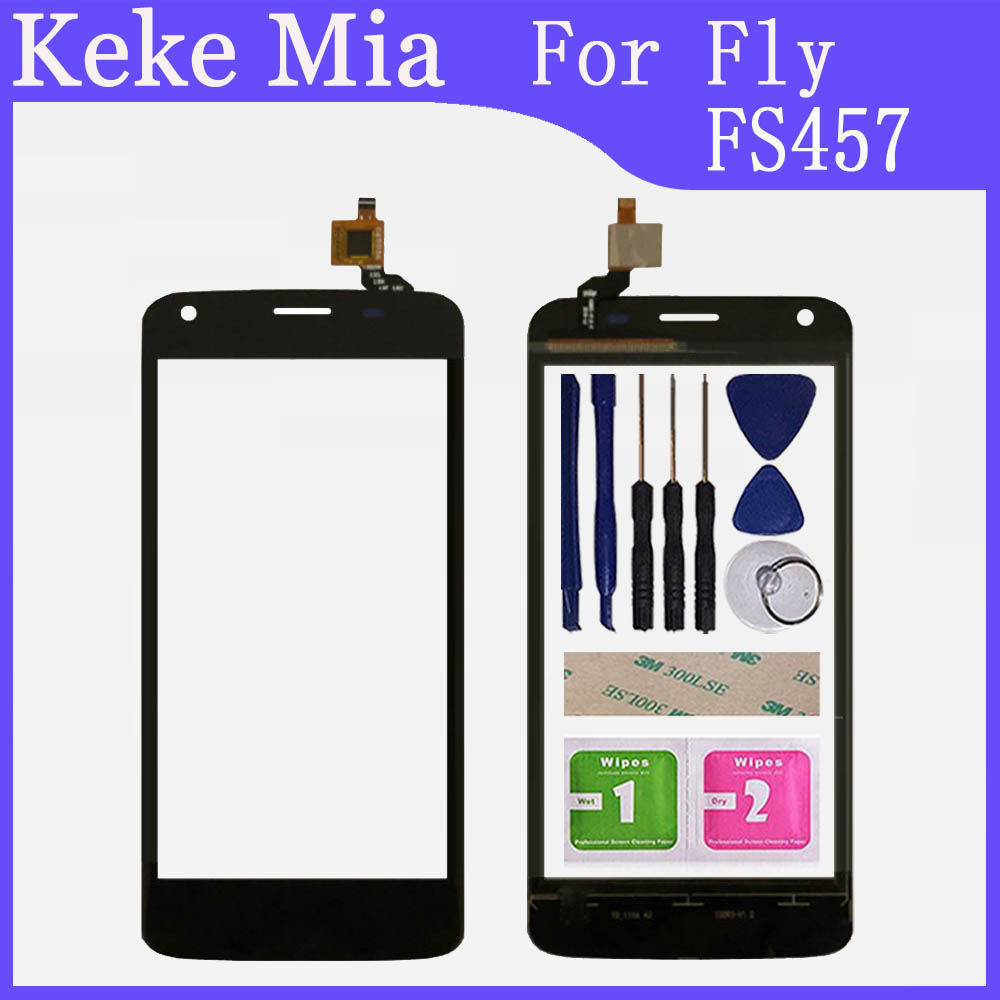 4.5 inch For Fly FS457 Nimbus 15 Touch Screen Glass Digitizer 100% Guarantee Original New Glass Panel Touch Screen image