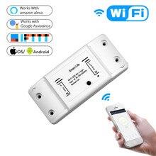 WiFi дистанционный переключатель освещения Универсальный таймер выключателя Smart Life APP беспроводной пульт дистанционного управления совместимый Alexa Google Home умный дом