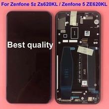 Für Asus Zenfone 5 2018 Gamme ZE620KL LCD Display Touchscreen Digitizer Montage Ersatz Teile Für ASUS 5z ZS620KL + rahmen