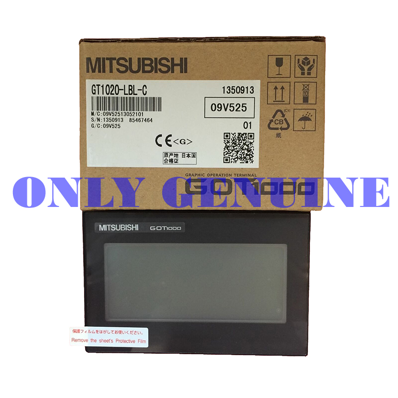Mitsubishi HMI Screen GT1020-LBL-C 3.7 Inch Touch Screen HMI Display GT1020-LBL-C