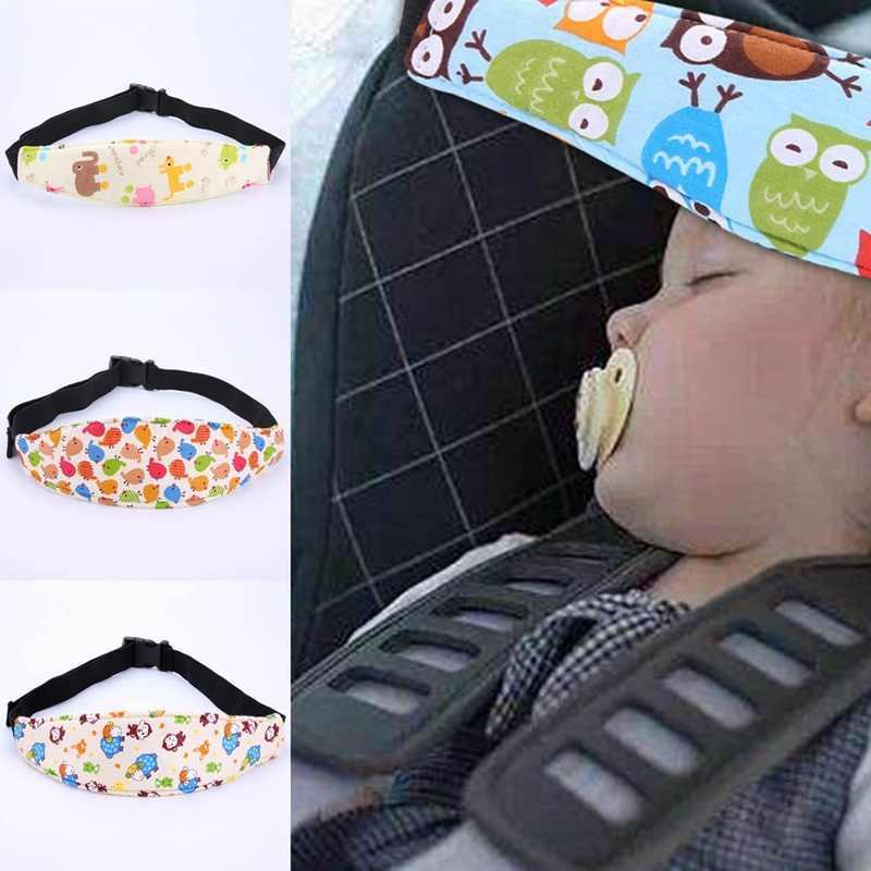 Cinturón de seguridad de coche de bebé cinturón de seguridad de automóvil ayuda para dormir soporte de cabeza para niños pequeños asiento de coche ayuda para dormir en los viajes correa de cabeza