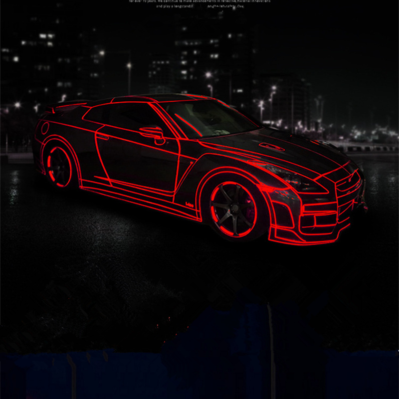 3D Car Reflector Stickers Motorcycle Sticker Tron Motorcycle Car Stickers Car Decal Funny Car Stickers Car Stickers And Decals