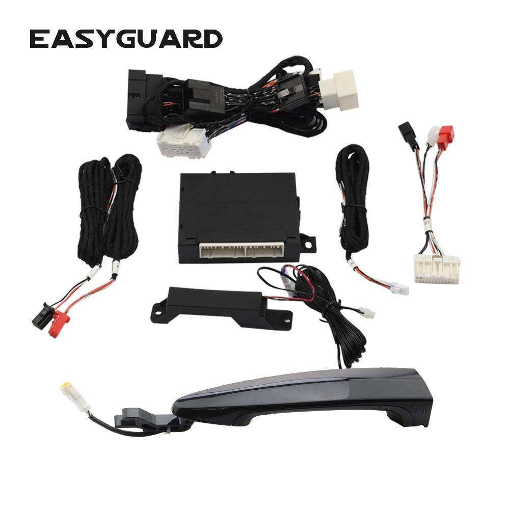 EASYGUARD door handle touch lock & unlock car door fits For bmw 5 series 7 series X3 X5 X6 comfort entry access