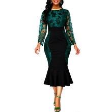 Молния платье с цветочным принтом для женщин 2020; Осенне летние